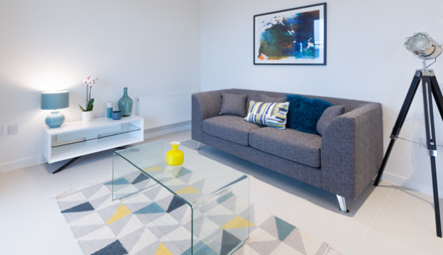 Stylish and spacious; enjoy wonderful living space when you rent a one-bedroom apartment at Rehearsal Rooms